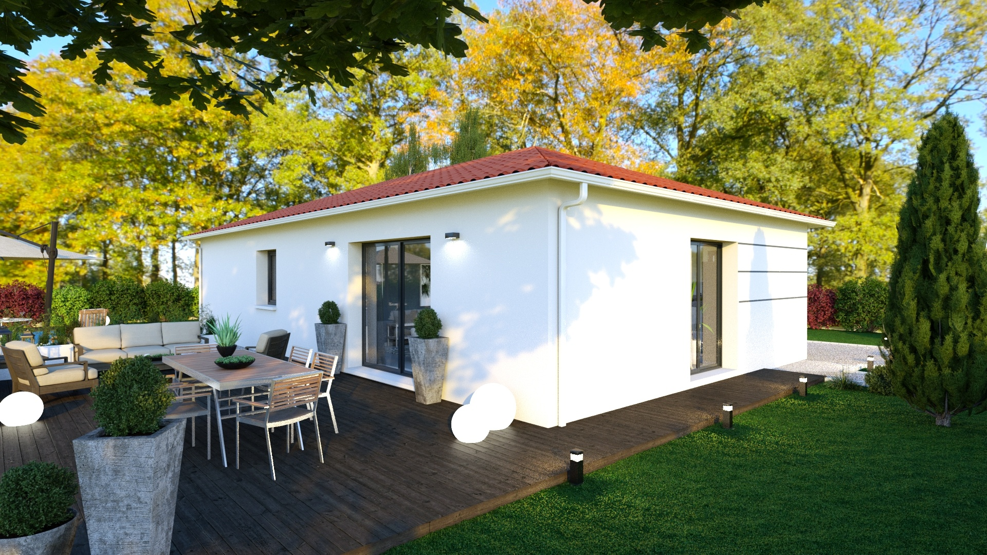 Maisons + Terrains du constructeur LOGIVELAY • 90 m² • ESPALY SAINT MARCEL
