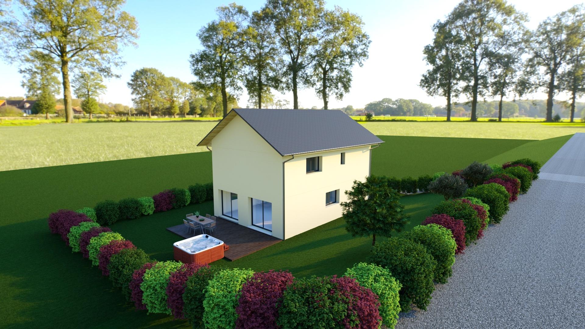 Maisons + Terrains du constructeur Maison Familiale Drumettaz Clarafond • 115 m² • PUGNY CHATENOD