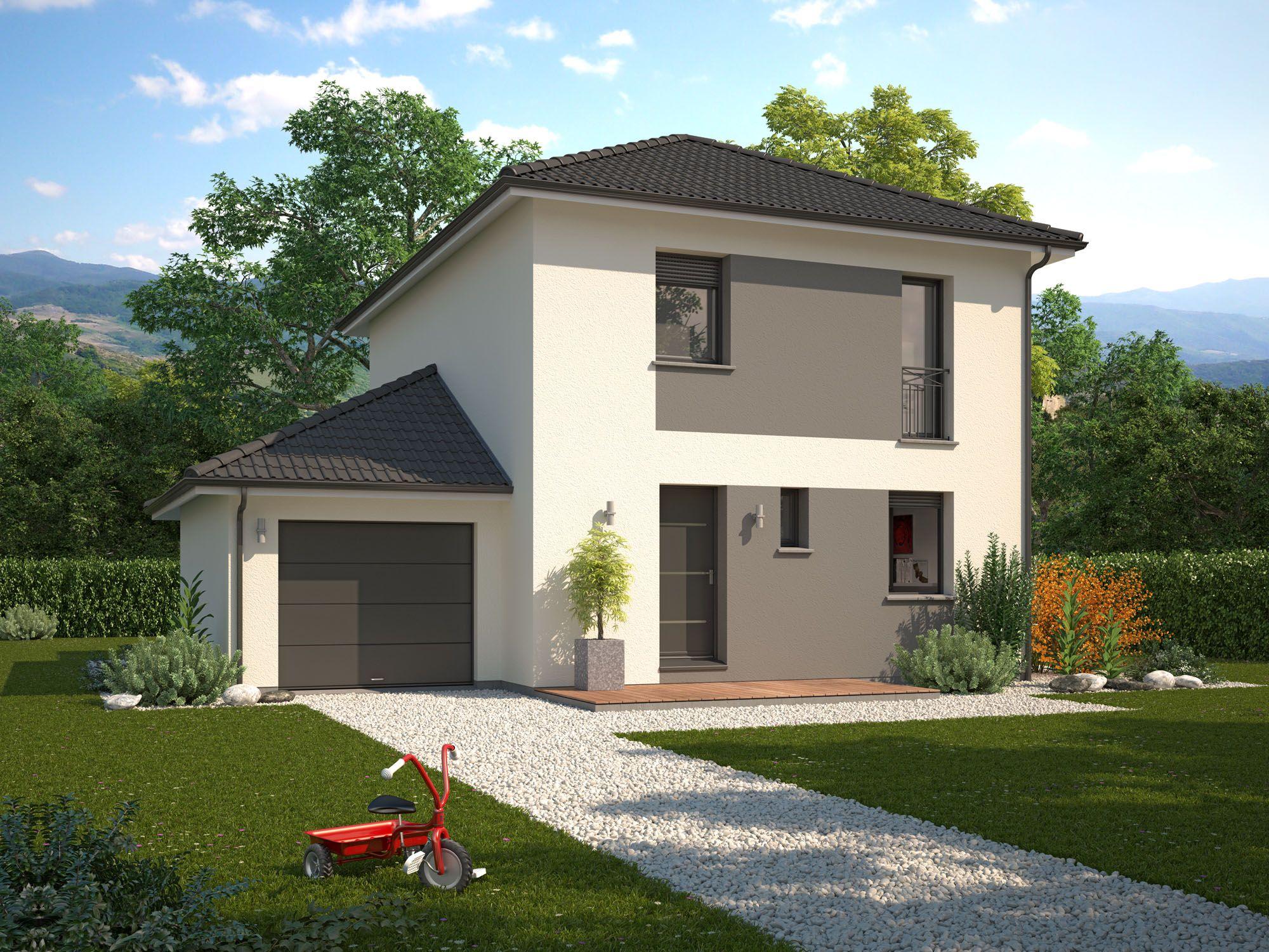 Maisons + Terrains du constructeur Maison Familiale Drumettaz Clarafond • 95 m² • FRONTENEX