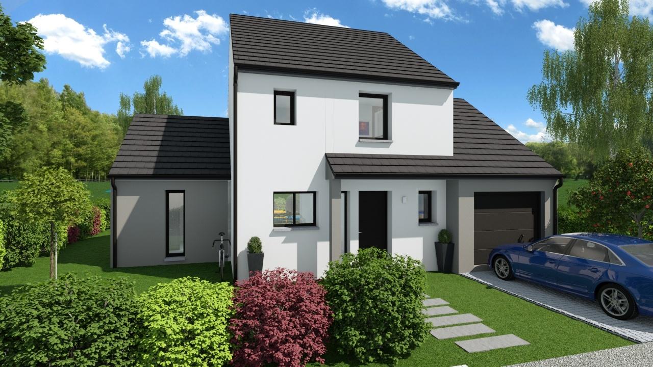 Maisons + Terrains du constructeur Maison Familiale Drumettaz Clarafond • 111 m² • AIX LES BAINS