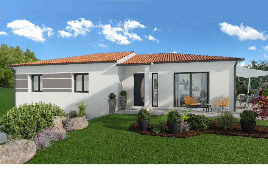 Maisons + Terrains du constructeur MAISONS ARLOGIS • 92 m² • SAINT SANDOUX