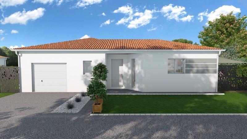 Maisons + Terrains du constructeur MAISONS ARLOGIS • 95 m² • SAINT CLEMENT DE REGNAT
