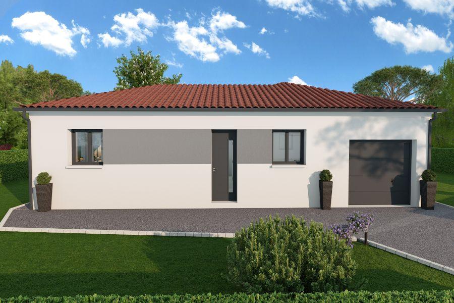 Maisons + Terrains du constructeur MAISONS ARLOGIS • 98 m² • VOLVIC