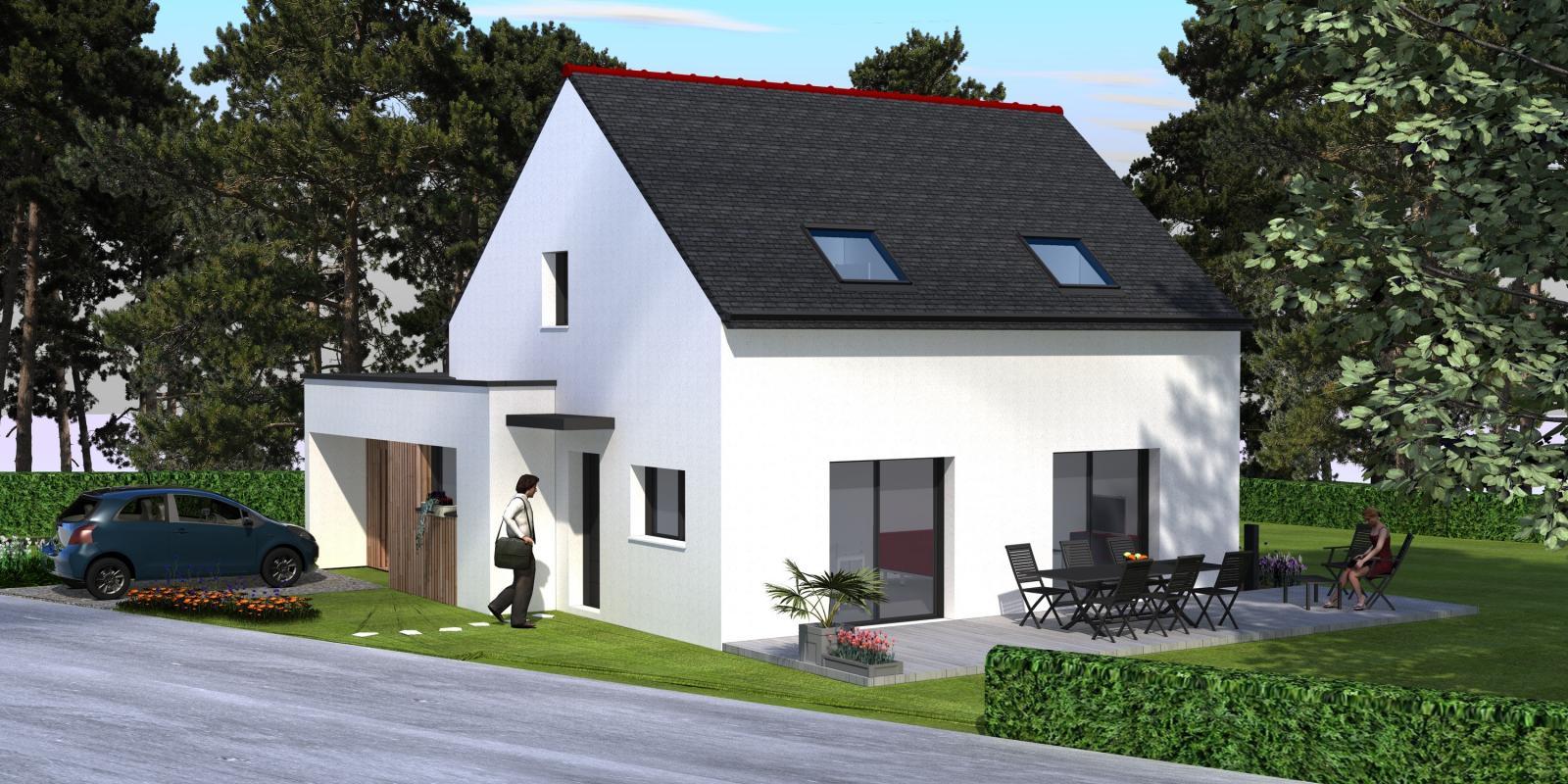 Maisons + Terrains du constructeur MAISONS ARLOGIS • AYDAT