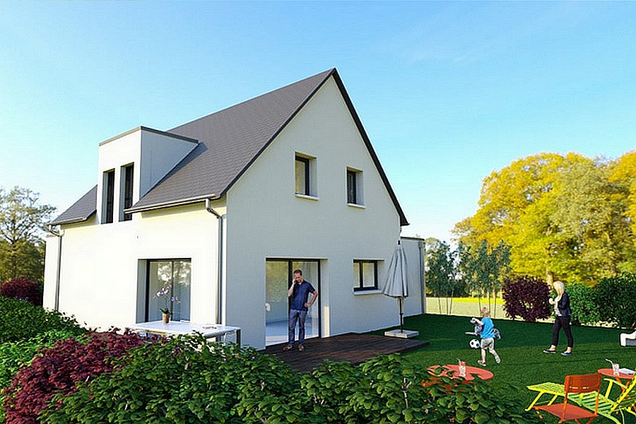 Maisons + Terrains du constructeur MAISONS ARLOGIS • 105 m² • BESSE ET SAINT ANASTAISE