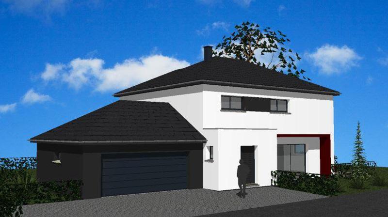 Maisons + Terrains du constructeur MAISONS ARLOGIS • 115 m² • SAINT BEAUZIRE