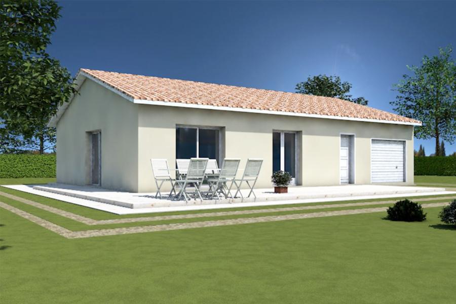 Maisons + Terrains du constructeur MAISONS ARLOGIS • 82 m² • VIC LE COMTE