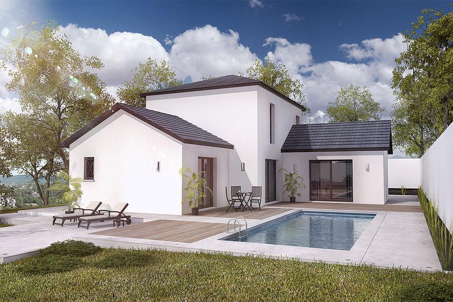 Maisons + Terrains du constructeur MAISONS ARLOGIS • 122 m² • SAINT GERMAIN LEMBRON