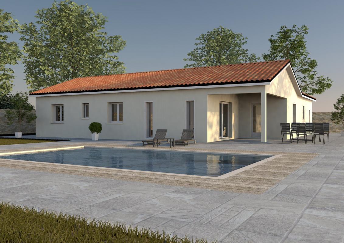 Maisons + Terrains du constructeur MAISONS ARLOGIS • 90 m² • VILLENEUVE LES CERFS