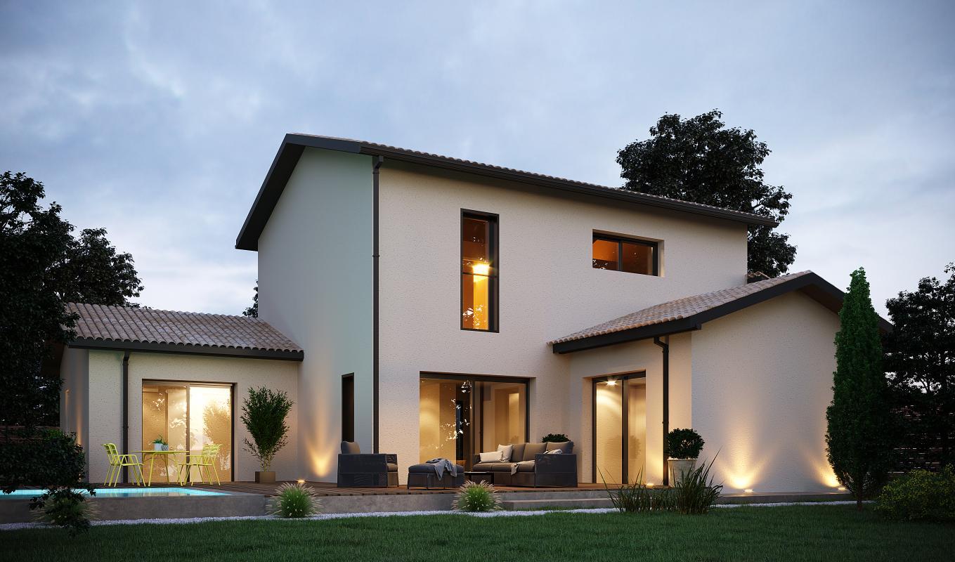 Maisons + Terrains du constructeur MAISONS ARLOGIS • 120 m² • MOISSAT