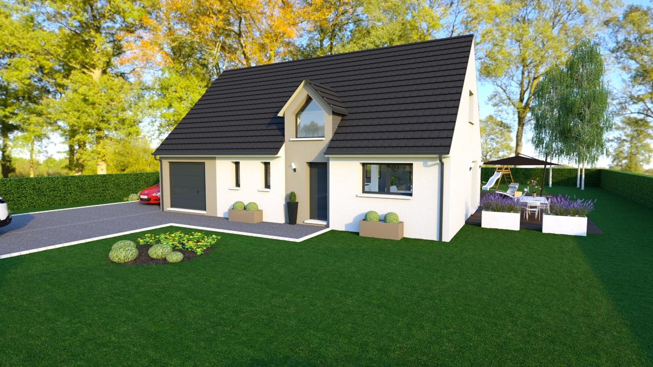Maisons + Terrains du constructeur MAISONS ARLOGIS • 100 m² • BROMONT LAMOTHE