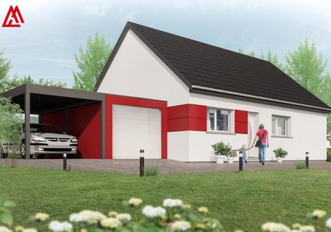 Maisons + Terrains du constructeur MAISONS ARLOGIS •  m² • VERNINES