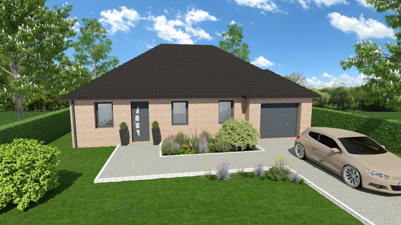 Maisons + Terrains du constructeur HOME READY • 80 m² • CAMBRIN