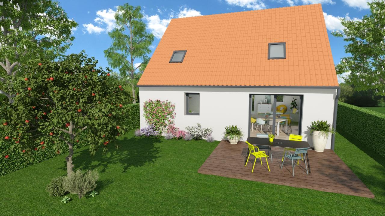 Maisons + Terrains du constructeur HOME READY • 82 m² • CARVIN