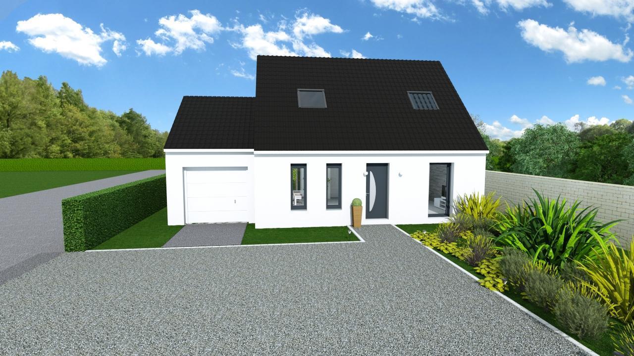 Maisons + Terrains du constructeur HOME READY • 84 m² • CAMBRIN