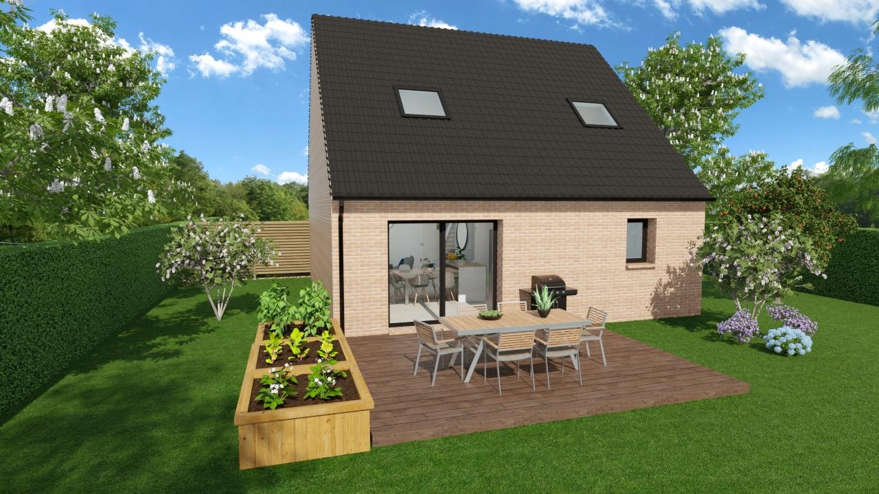 Maisons + Terrains du constructeur HOME READY • 87 m² • DOUVRIN