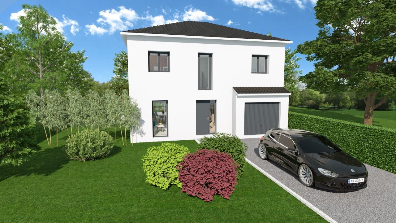 Maisons + Terrains du constructeur HOME READY • 104 m² • EVIN MALMAISON