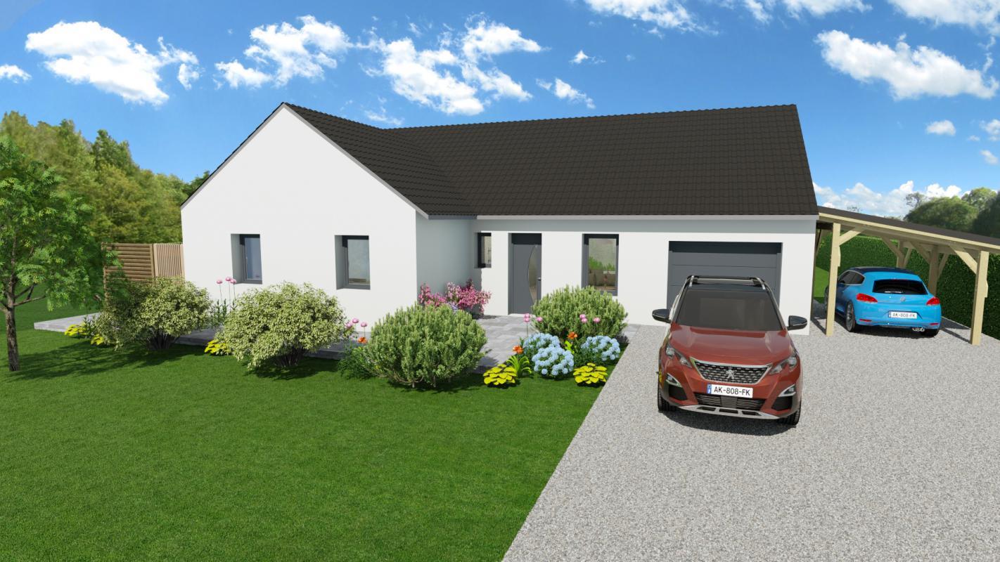 Maisons + Terrains du constructeur HOME READY • 100 m² • EVIN MALMAISON