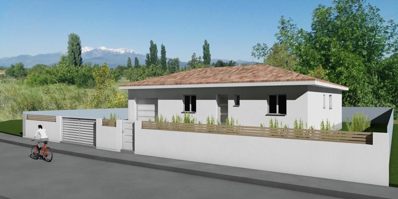 Maisons + Terrains du constructeur A M CONSTRUCTIONS • 85 m² • LE BOULOU