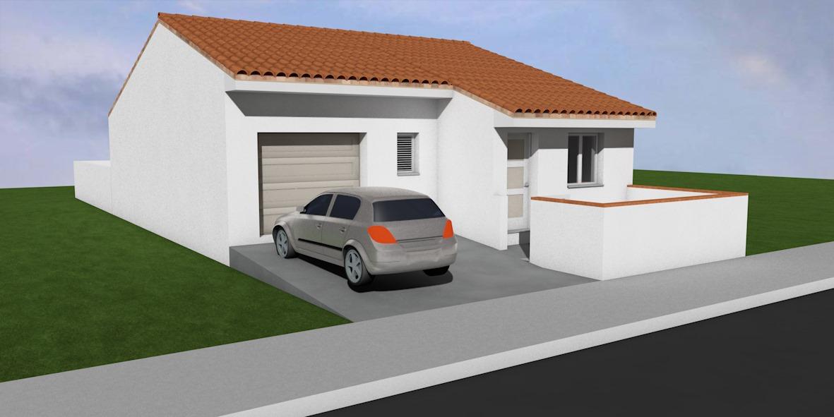 Maisons + Terrains du constructeur A M CONSTRUCTIONS • 70 m² • LE BOULOU