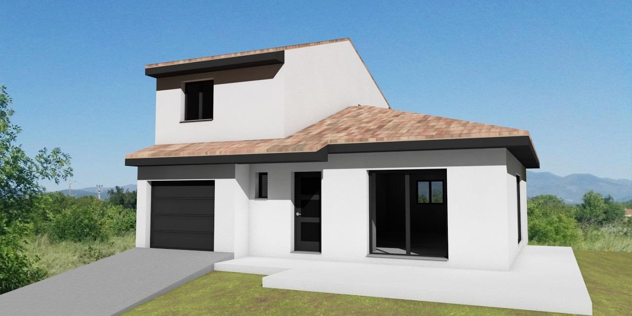 Maisons + Terrains du constructeur A M CONSTRUCTIONS • 90 m² • TAUTAVEL