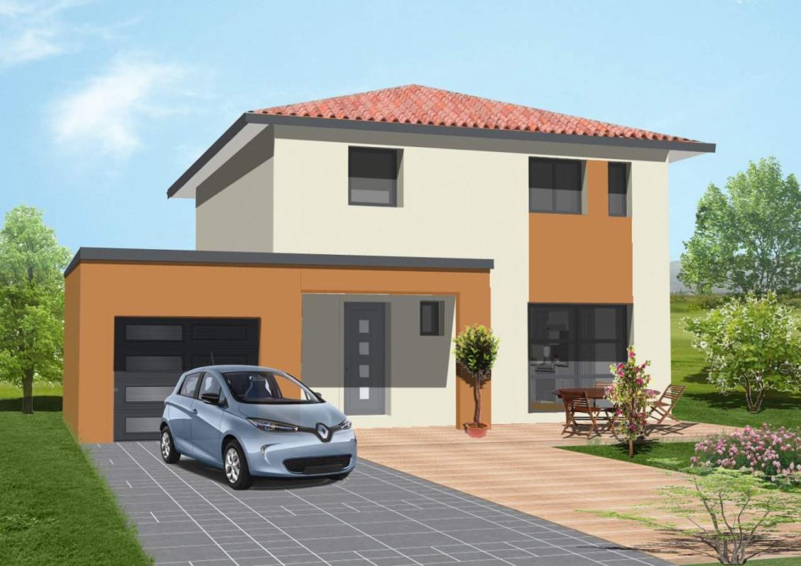 Maisons + Terrains du constructeur A M CONSTRUCTIONS • 90 m² • SAINT JEAN LASSEILLE