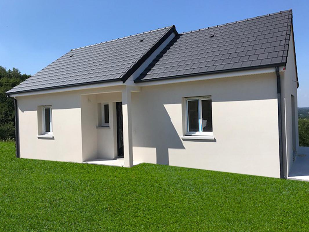Maisons + Terrains du constructeur MAISONS ALIENOR - AGENCE DE BRIVE • 90 m² • LARCHE