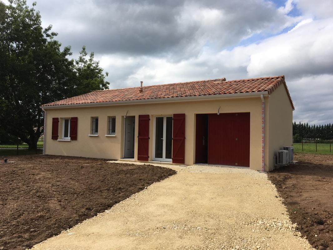 Maisons + Terrains du constructeur MAISONS ALIENOR - AGENCE DE BERGERAC • 90 m² • BERGERAC