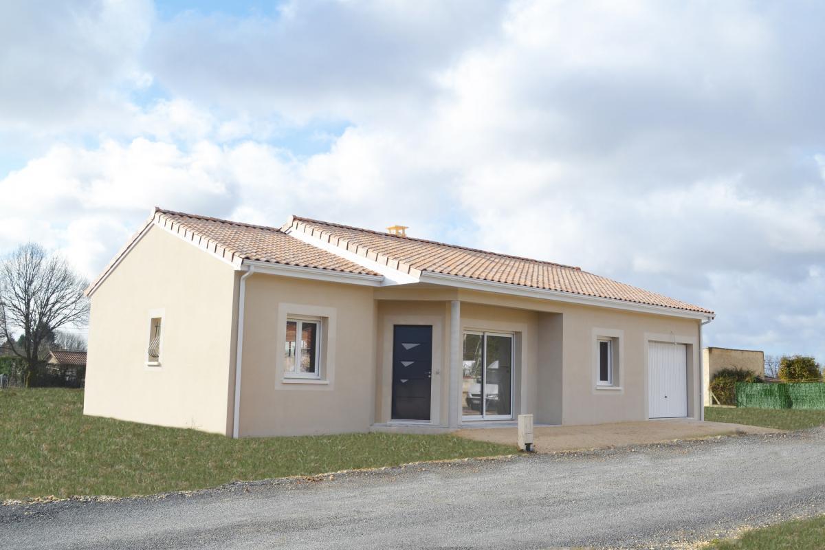 Maisons + Terrains du constructeur MAISONS ALIENOR - AGENCE DE BERGERAC • 90 m² • PRIGONRIEUX