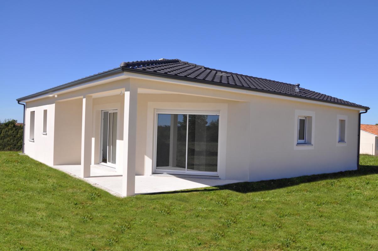 Maisons + Terrains du constructeur MAISONS ALIENOR - AGENCE DE BERGERAC •  m² • PESSAC SUR DORDOGNE
