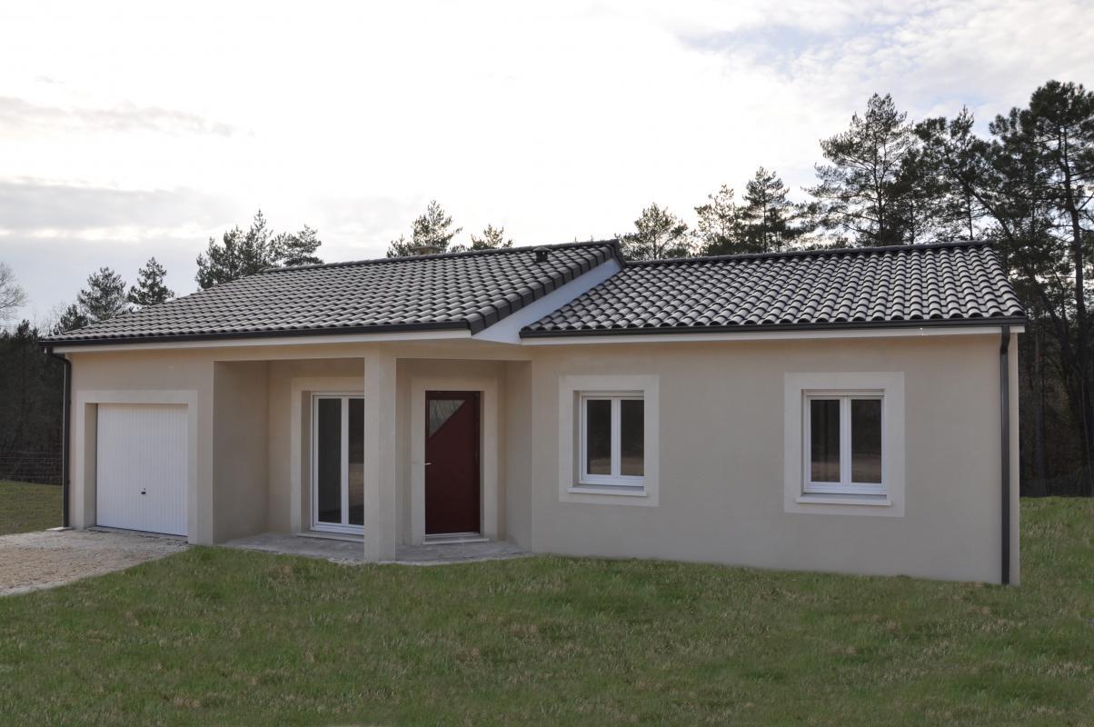 Maisons + Terrains du constructeur MAISONS ALIENOR - AGENCE DE BERGERAC • 100 m² • MONTCARET