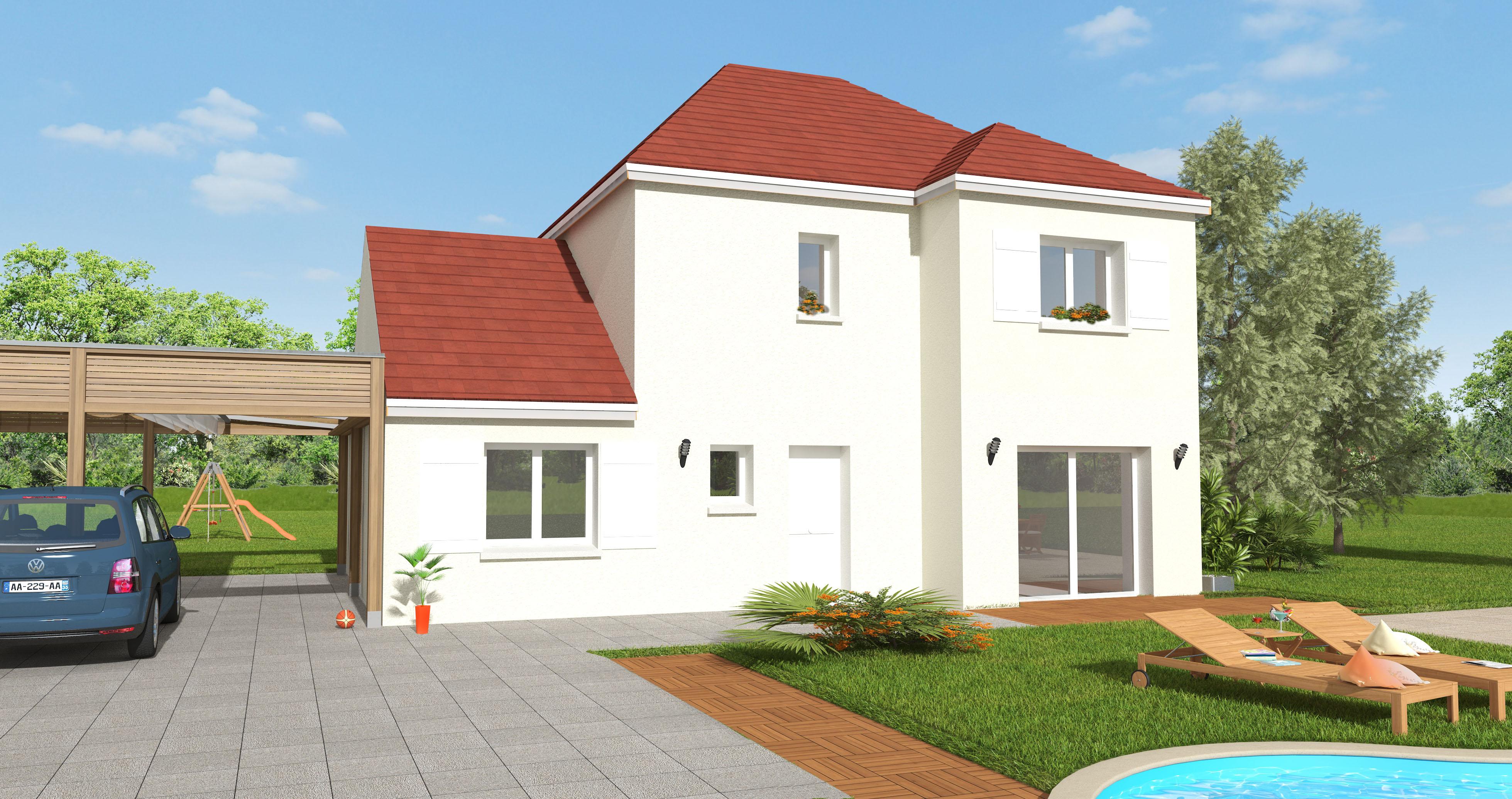 Maisons + Terrains du constructeur MAISON 7 SENS • 135 m² • SAINT FARGEAU PONTHIERRY