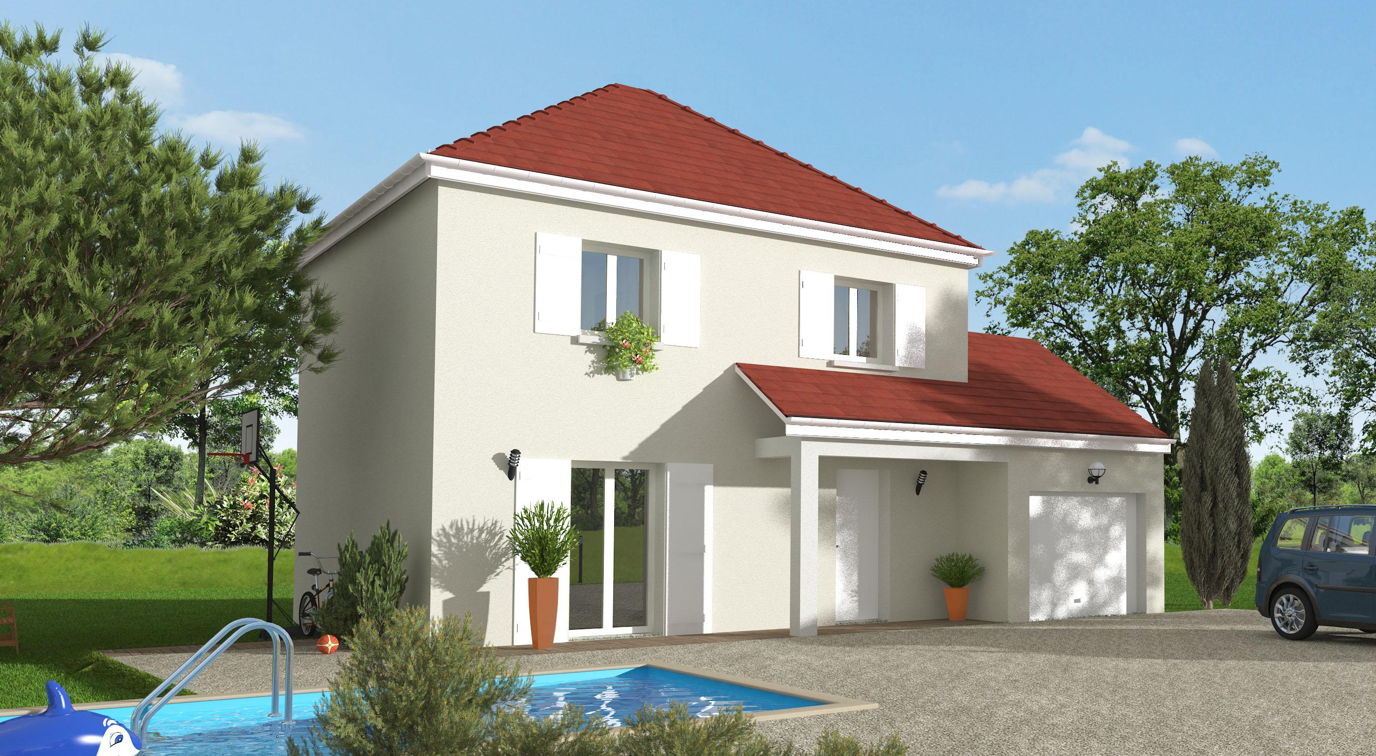 Maisons + Terrains du constructeur MAISON 7 SENS • 85 m² • SAINT FARGEAU PONTHIERRY