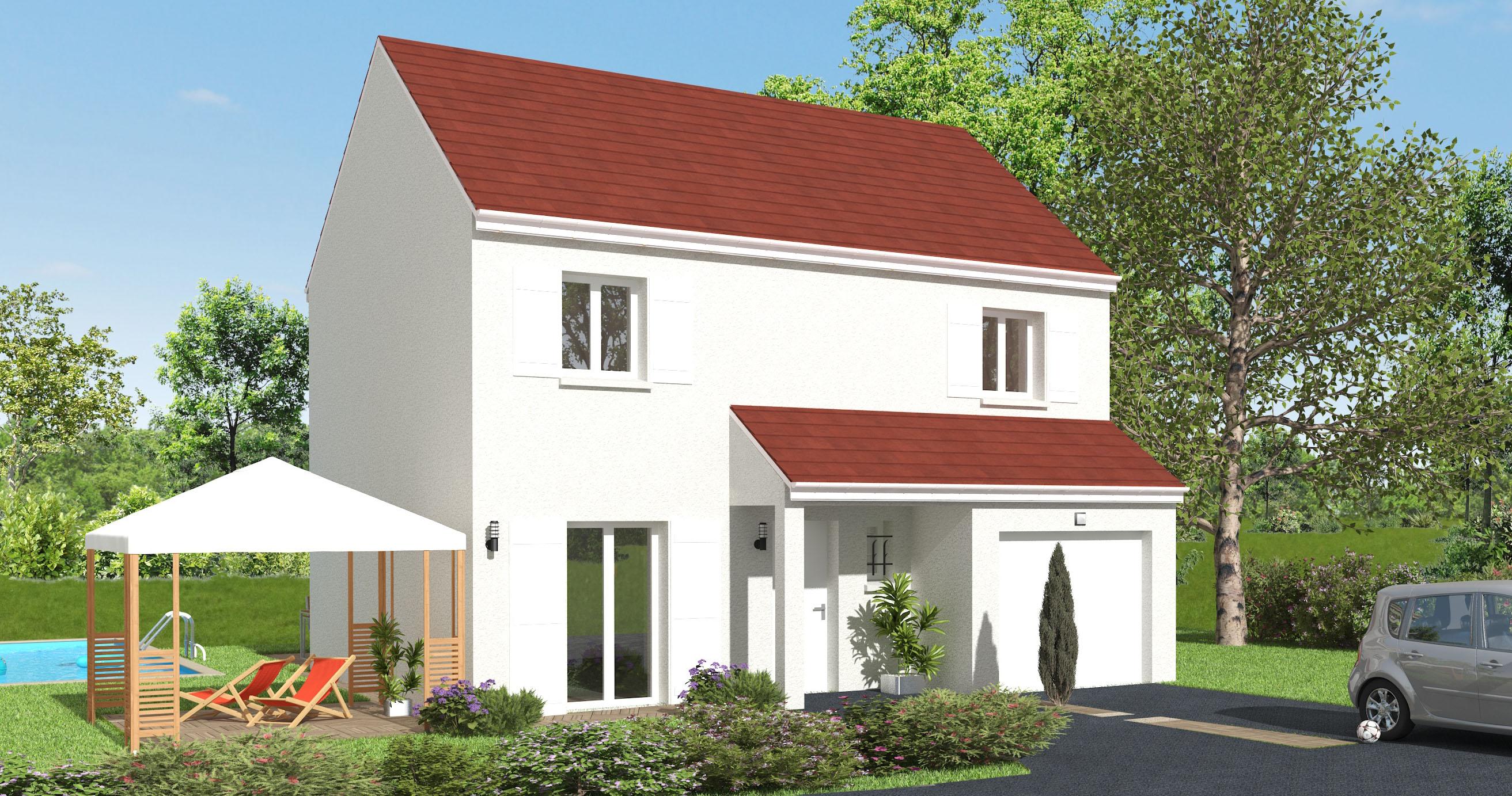 Maisons + Terrains du constructeur MAISON 7 SENS • 92 m² • BOURRON MARLOTTE