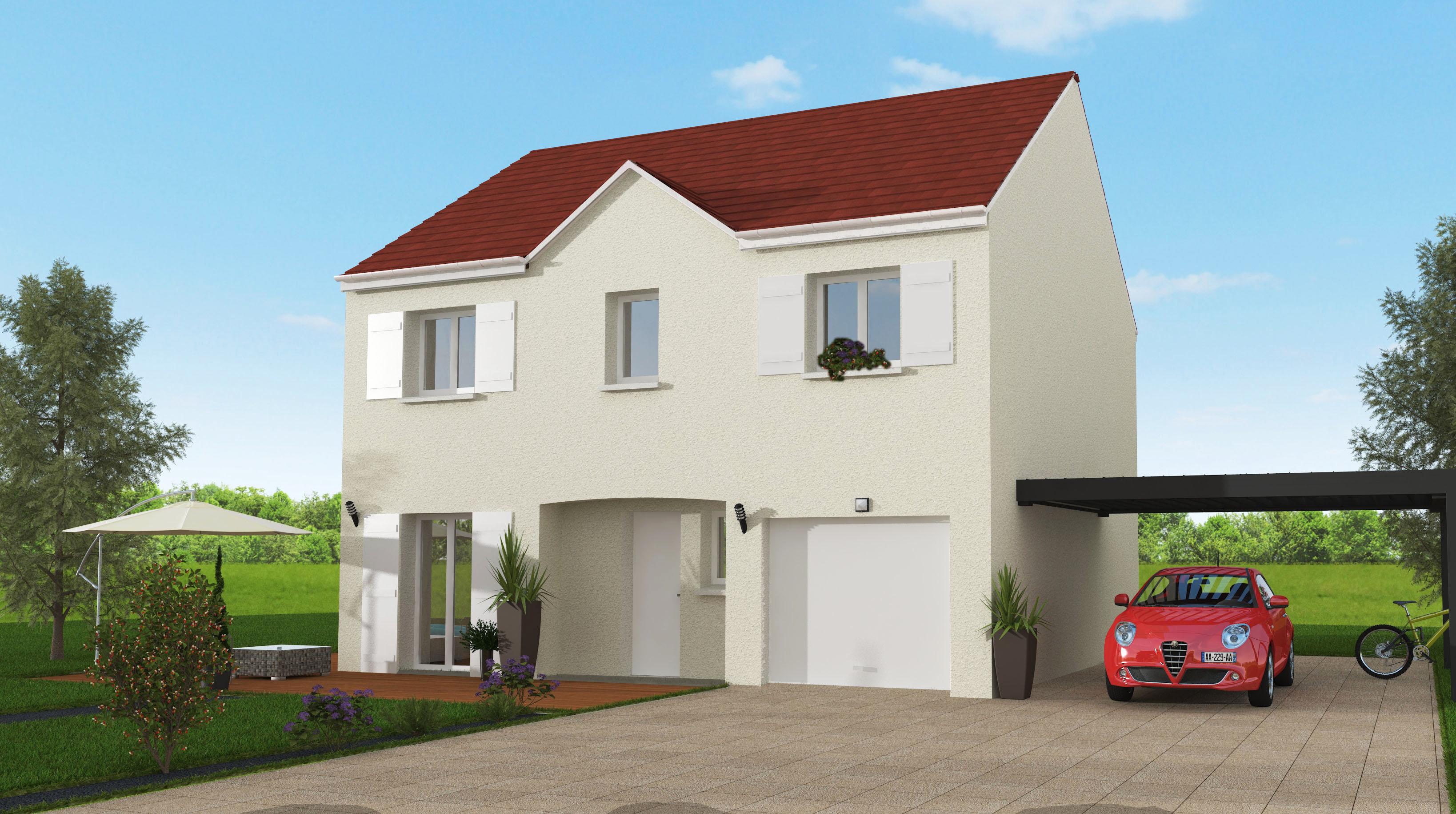 Maisons + Terrains du constructeur MAISON 7 SENS • 114 m² • CELY EN BIERE