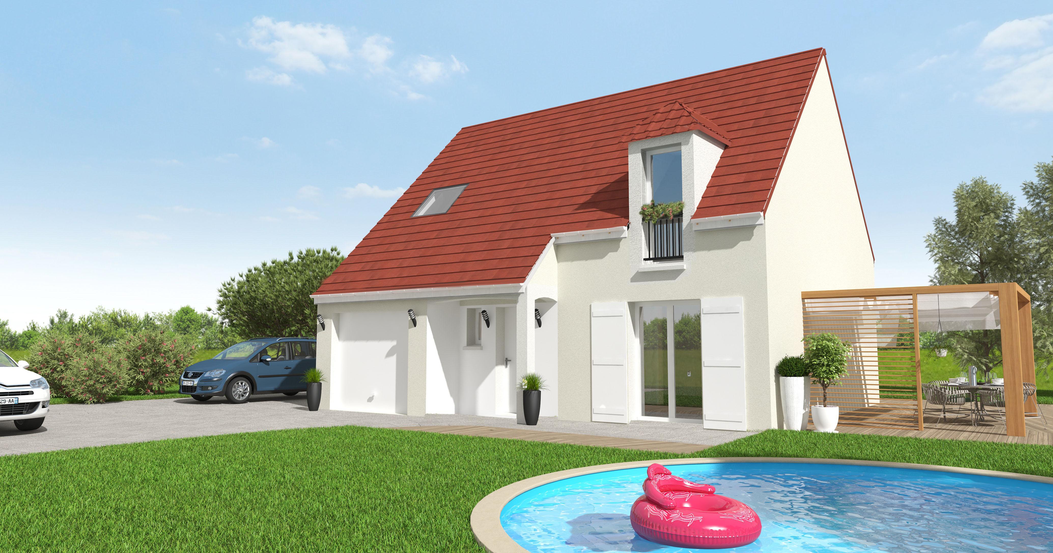 Maisons + Terrains du constructeur MAISON 7 SENS • 98 m² • PERTHES
