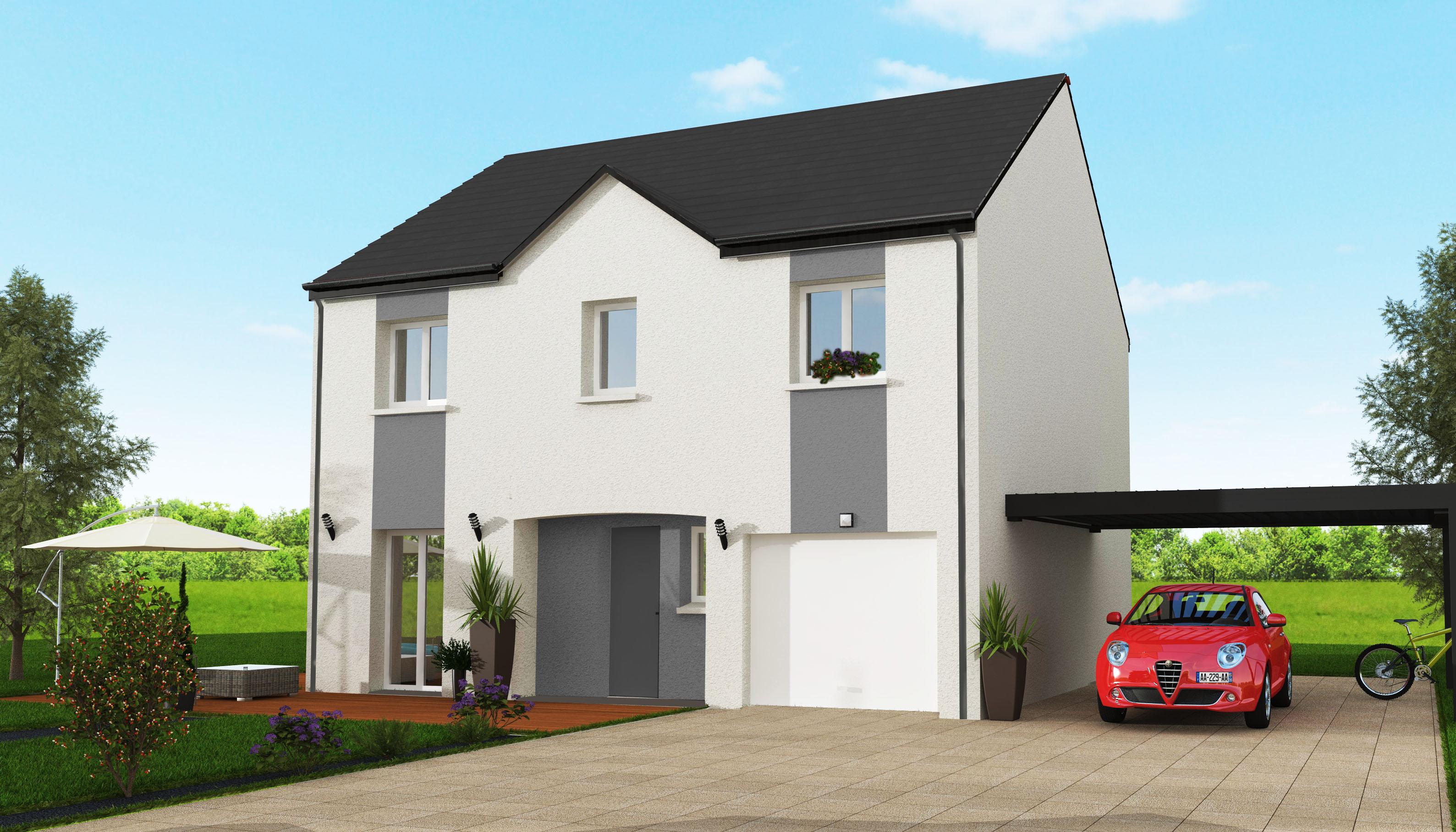 Maisons + Terrains du constructeur MAISON 7 SENS • 114 m² • GRIGNY