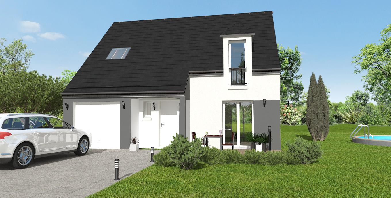 Maisons + Terrains du constructeur MAISON 7 SENS • 100 m² • COURSON MONTELOUP