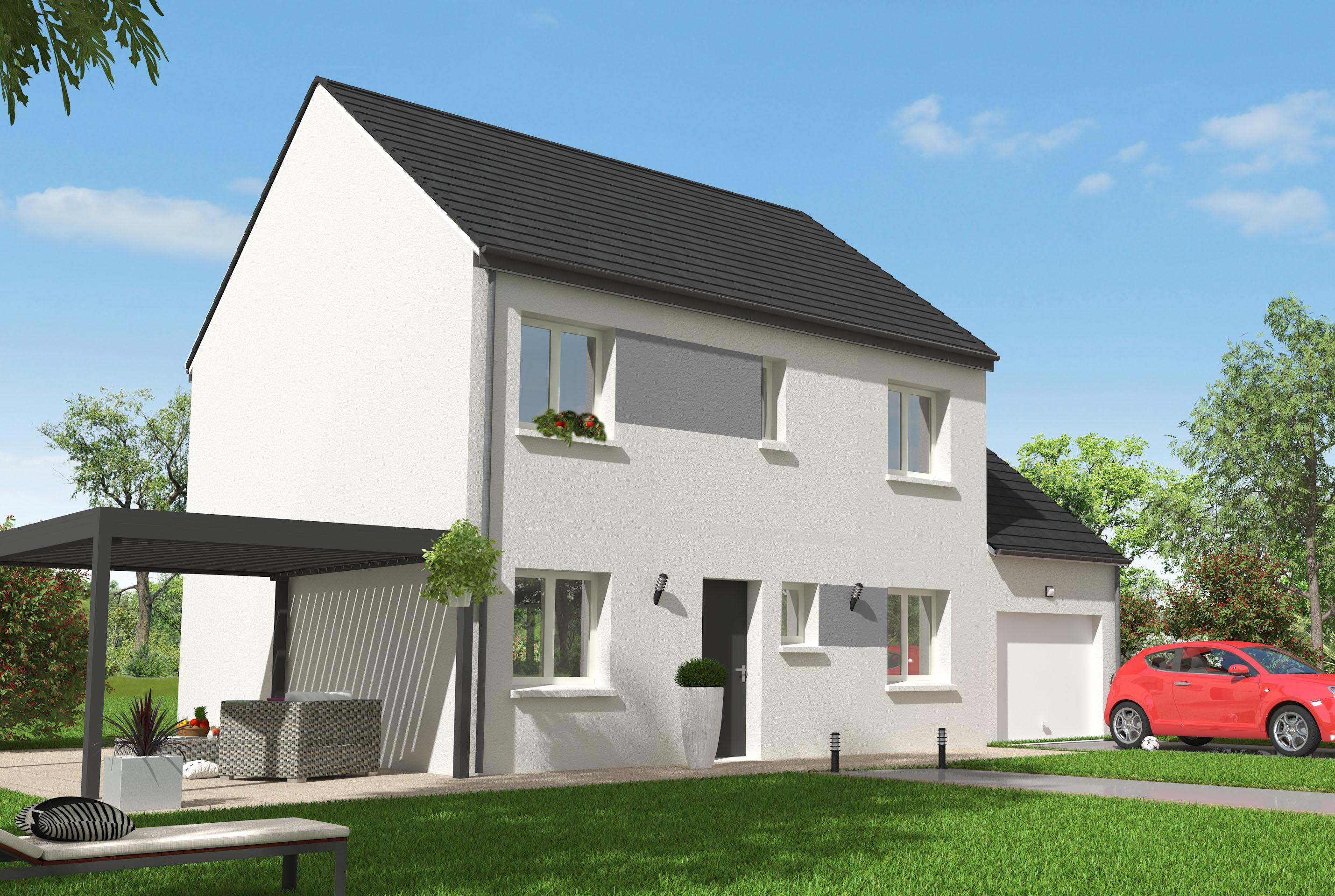 Maisons + Terrains du constructeur MAISON 7 SENS • 106 m² • BOISSY SOUS SAINT YON