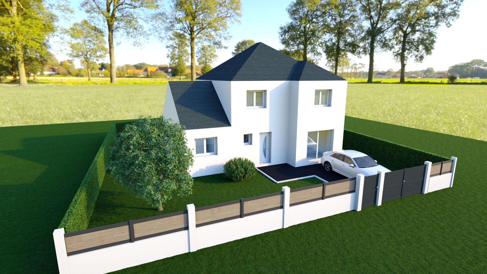 Maisons + Terrains du constructeur MAISON 7 SENS • 135 m² • SAULX LES CHARTREUX