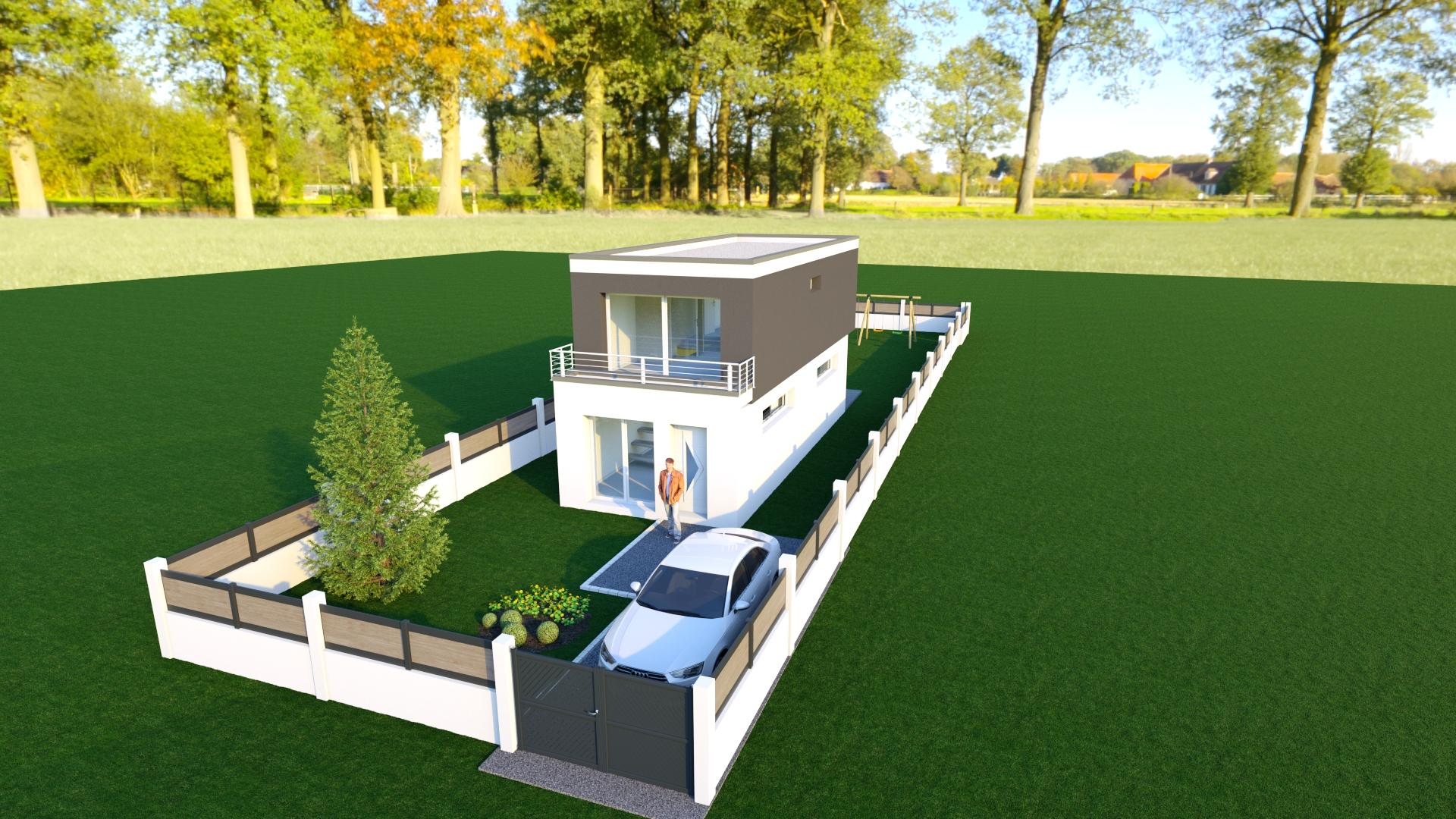 Maisons + Terrains du constructeur MAISON 7 SENS • 77 m² • LONGJUMEAU