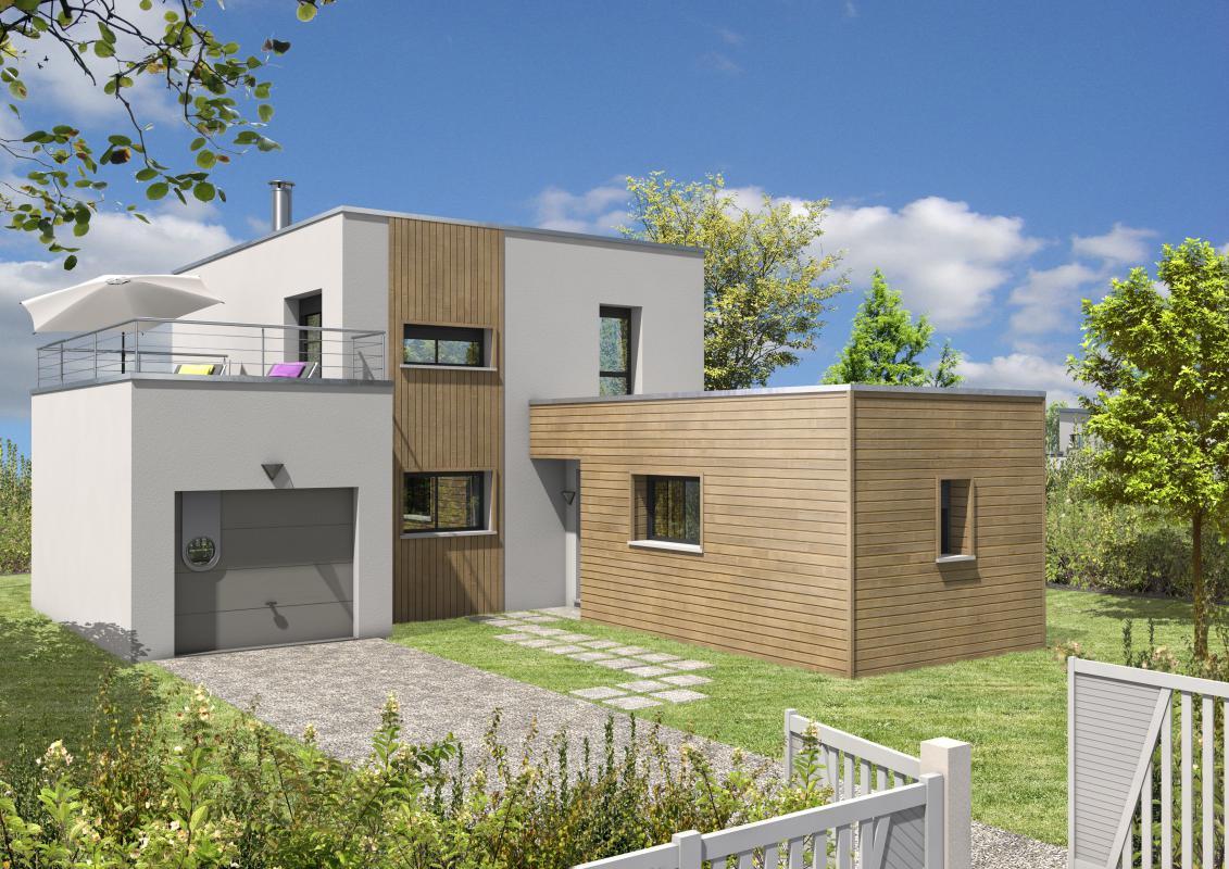 Maisons + Terrains du constructeur MAISONS D EN FRANCE BRETAGNE - AGENCE DE RENNES • 114 m² • JANZE