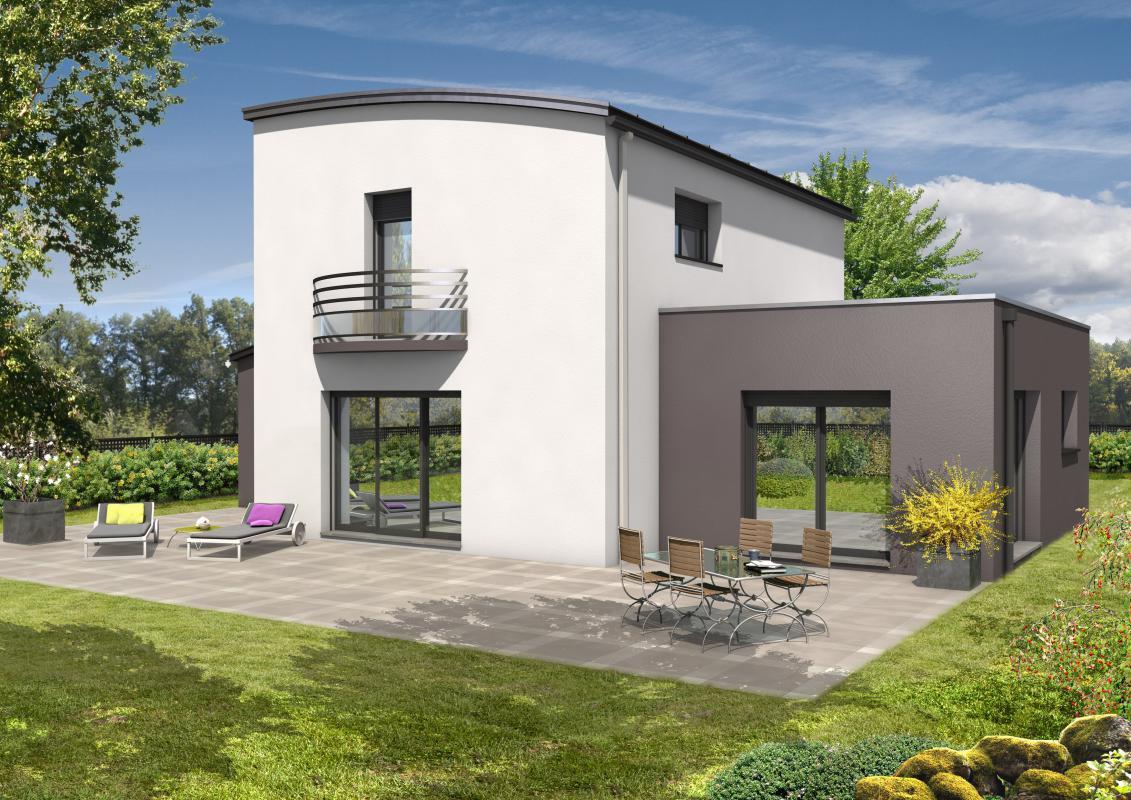 Maisons + Terrains du constructeur MAISONS D EN FRANCE BRETAGNE - AGENCE DE RENNES • 152 m² • BRUZ