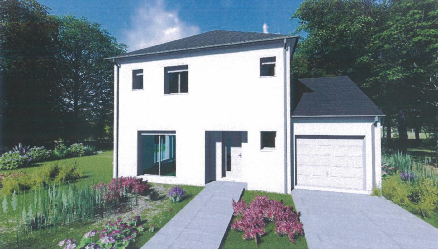 Maisons + Terrains du constructeur MAISONS ARLOGIS REIMS • 105 m² • BAZANCOURT