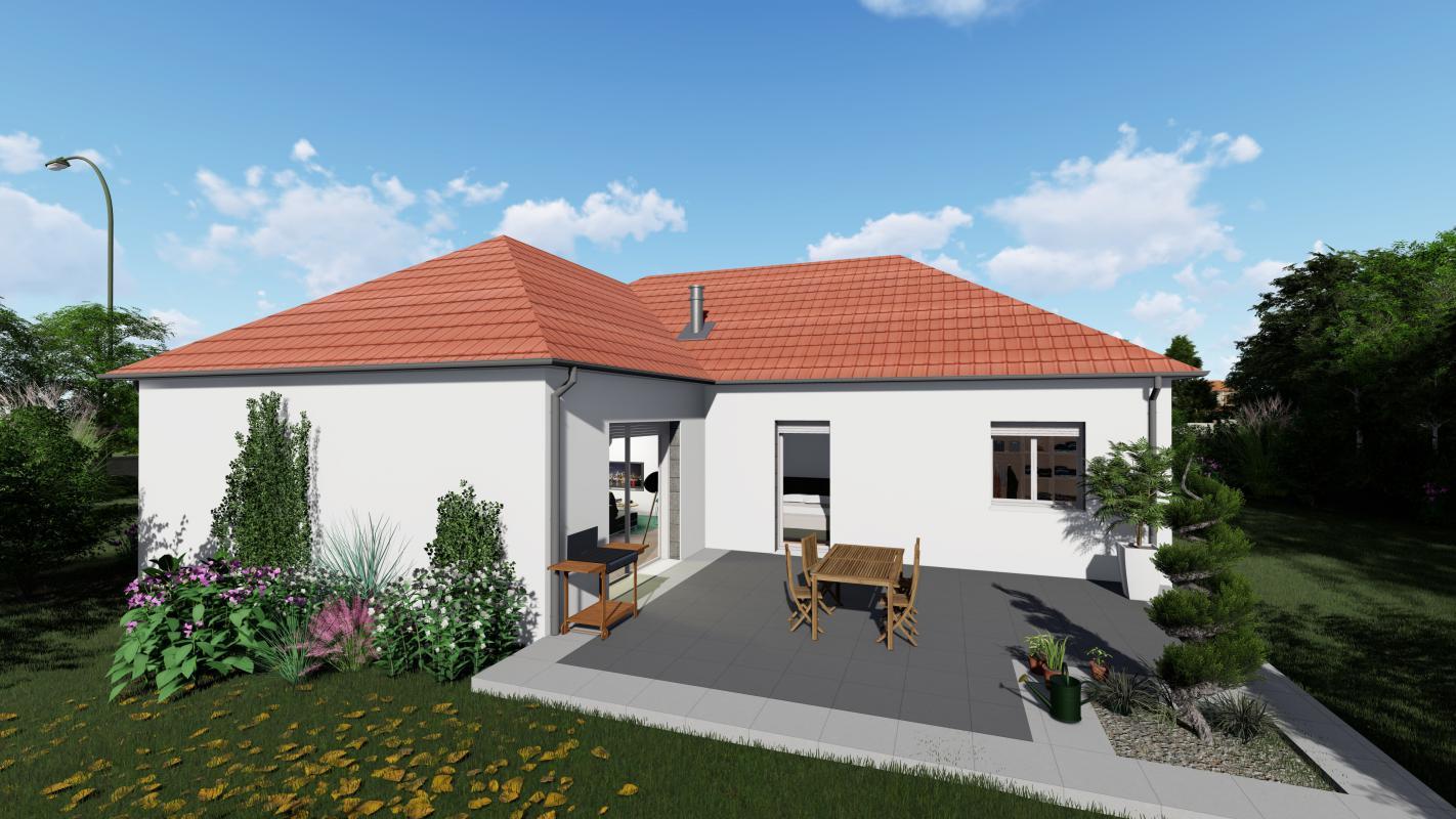 Maisons + Terrains du constructeur MAISONS ARLOGIS REIMS • 90 m² • BEZANNES