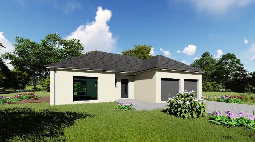 Maisons + Terrains du constructeur MAISONS ARLOGIS REIMS • 100 m² • VAL DE VESLE