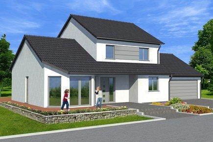 Maisons + Terrains du constructeur MAISONS ARLOGIS REIMS • 110 m² • MONTIGNY SUR VESLE