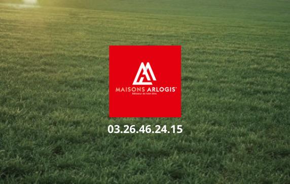 Terrains du constructeur MAISONS ARLOGIS REIMS • 792 m² • BAZANCOURT