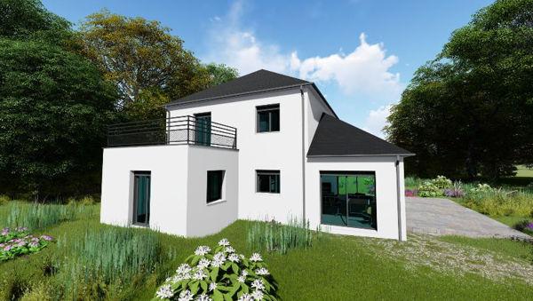 Maisons + Terrains du constructeur MAISONS ARLOGIS REIMS • 115 m² • MERFY
