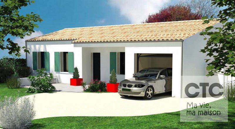 Maisons du constructeur Charentes Techniques Constructions • 85 m² • MARANS